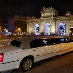 Limusinas en Madrid en Navidad