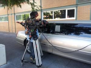 filmaciones con limusinas madrid